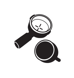 portafilter vector image