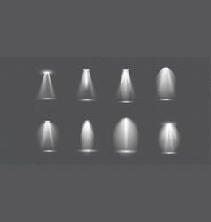 scene illumination big collection concert vector image