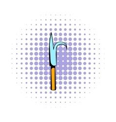Scrap icon comics style vector