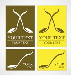 Thai cuisine symbol vector image vector image