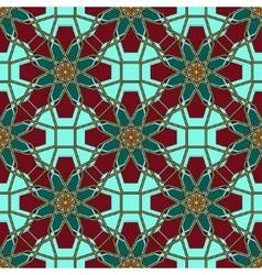 Arabic Islamic seamless pattern Ramadan Kareem on vector image