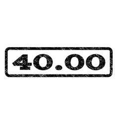 4000 watermark stamp vector image