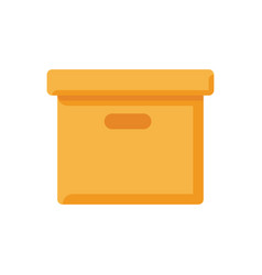 box icon sign symbol vector image