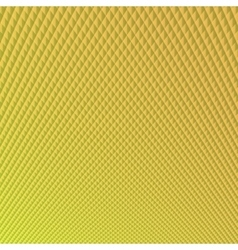 Bright yellow with diamonds background vector
