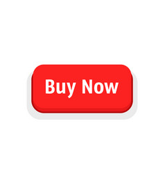 buy now red cartoon button vector image