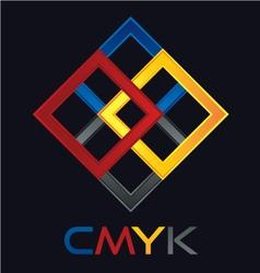 C M Y K vector