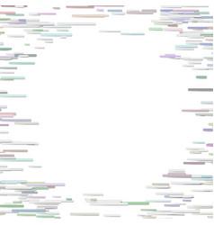 horizontal stripe background design - blank frame vector image