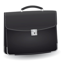 Lack briefcase for the businessman vector illustra vector