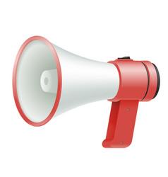 loud speaker megaphone loudspeaker voice amplifier vector image