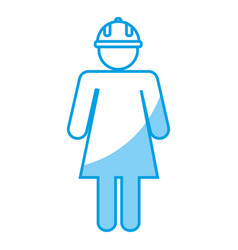 Safety helmet design vector