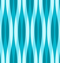 Turquoise Blue and White Wavy Background vector image