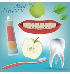 Oral Hygiene Image vector image vector image