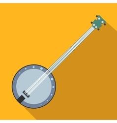 Banjo flat icon vector image