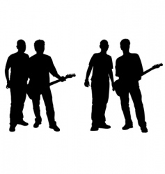 duo band vector image vector image