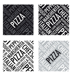 pizza background6 vector image vector image