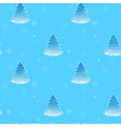 A blue seamless design for christmas with vector