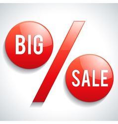 Big Sale symbol vector image