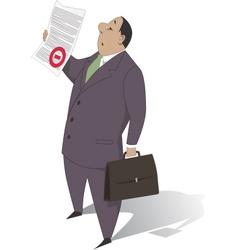 Bureaucracy vector image