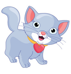 Cartoon cat vector
