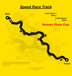 eaglesong highway speed track vector image