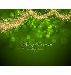Elegant Lime Green Christmas Background vector