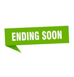 Ending soon vector