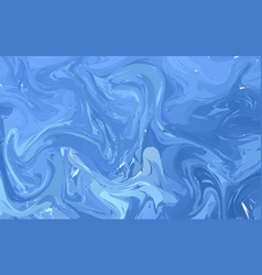 Fluid colorful shapes background dark blue trendy vector