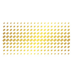 Free tag golden halftone grid vector