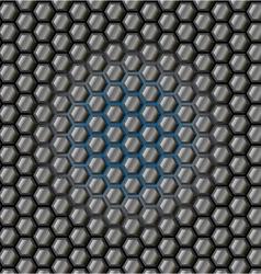 honeycomb vector image
