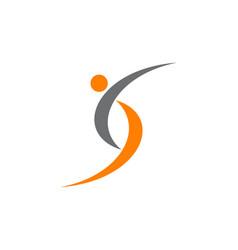 Letter s modern logo vector