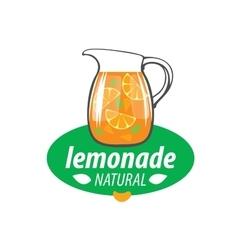 logo for lemonade vector image