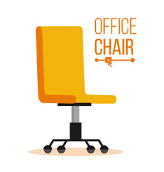 Office chair business hiring and vector