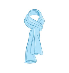 realistic scarf women fashion accessories the vector image vector image