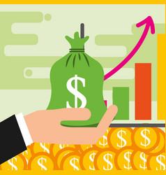 saving money business vector image