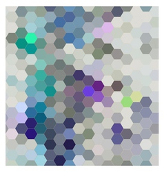 Hexagon seamless patern abstract background vector image vector image