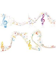 Set of Musical Design vector image