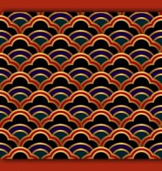 dark waves vector image