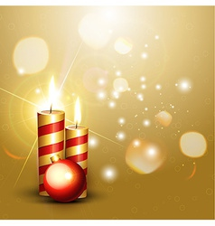 shiny new year design vector image vector image