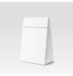 Paper Bag Package for advertising and branding vector image
