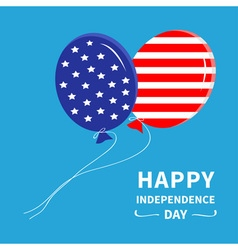 Ballon Happy Independence Day vector image