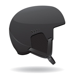 helmet for snowboarding vector image