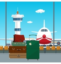 Luggage Bags for Traveling vector