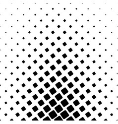 Monochrome square pattern - geometric background vector