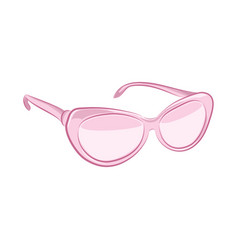 realistic sunglasses women fashion accessories vector image vector image