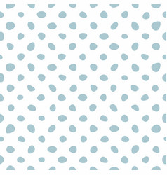 tile pattern with small mint green polka dots vector image