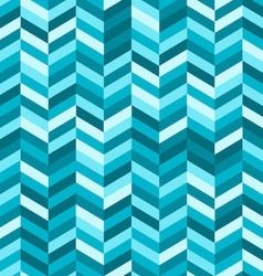 Zig zag abstract background in shades blue vector