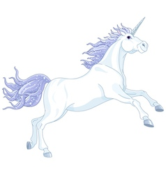 Fairy unicorn vector image vector image