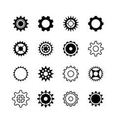 transmission gear wheel engine gearshift vector image