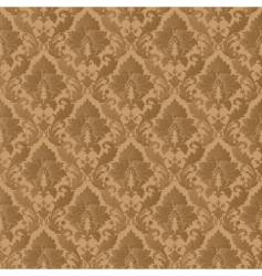 damask patern vector image vector image