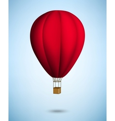 hot air balloon vector image vector image